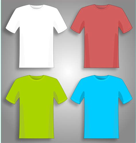 colorful shirts clipart colorful t shirts