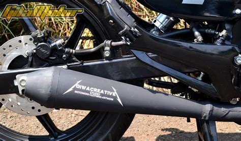 Velg Sepasang Honda New Mega Pro Mono Original honda mega pro 2012 black flag gilamotor