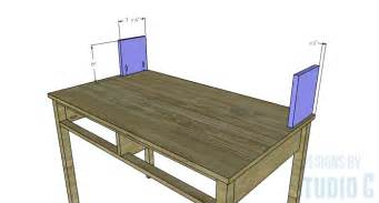 diy desk hutch diy furniture plans to build a mena hutch desk