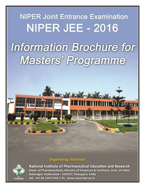 Niper Pharma Mba Placements by National Institute Of Pharmaceutical Education And