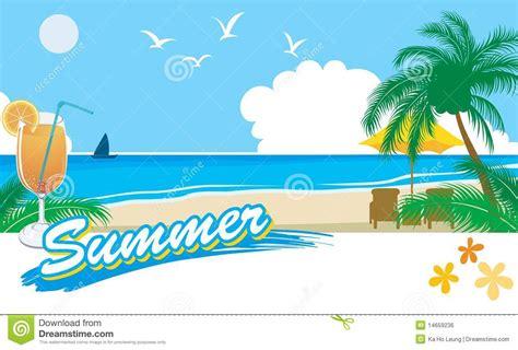imagenes sobre vacaciones de verano vacaciones 2 de la playa del verano ilustraci 243 n del vector