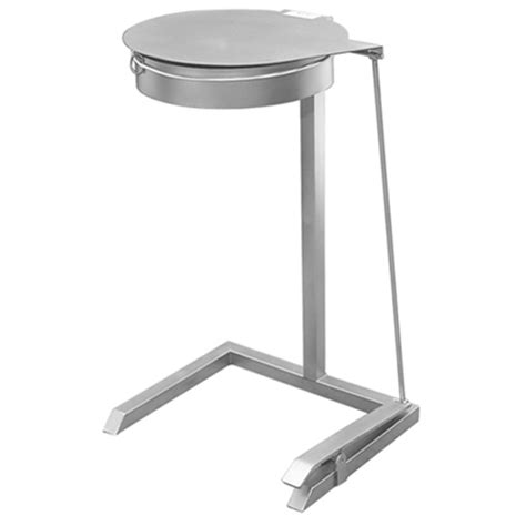amazon com aero stainless steel foot pedal opertaed stainless steel foot operated waste bin j k stainless