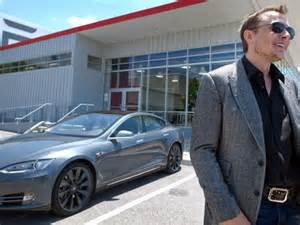 Electric Car Tesla Founder Elon Musk Defends Tesla Electric Car After