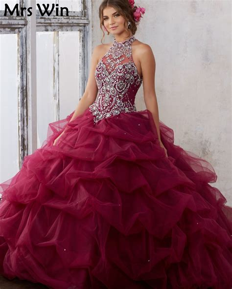 Dress Cinderella Maroon T17 buy wholesale burgundy quinceanera dresses from
