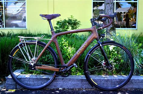 Handcrafted Bicycles - a wooden bicycle renovo prove that a wood touring bike is