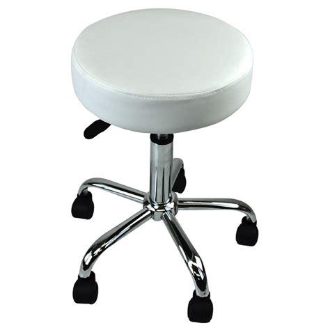 Salon Stools On Wheels by New White Salon Spa Stool Equipment Chair