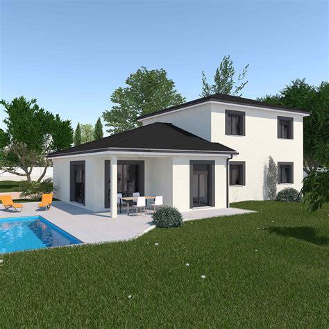 Maisons Plain Pieds Maisons Levoye maisons levoye tourdissant maison cube design avec maison