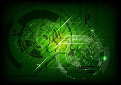wallpaper green tech vector tech background in green stock vector colourbox