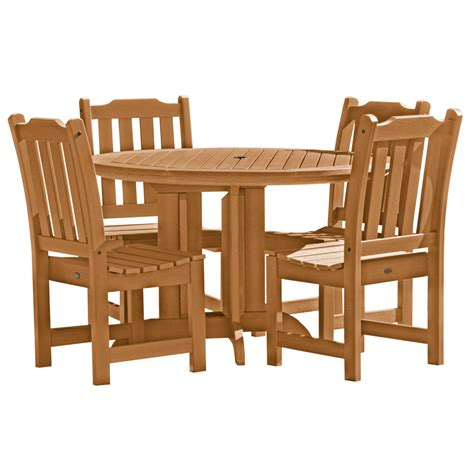 5 Piece Round Patio Dining Set In Patio Dining Sets 5 Patio Dining Sets