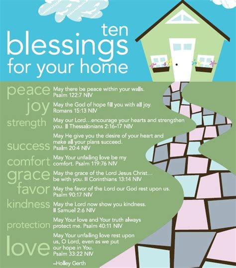 House Of Blessings by Ten Blessings For Your Home