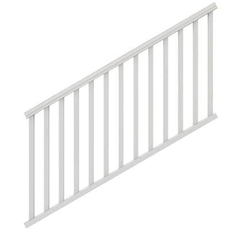 veranda 6 ft x 36 in white traditional stair kit