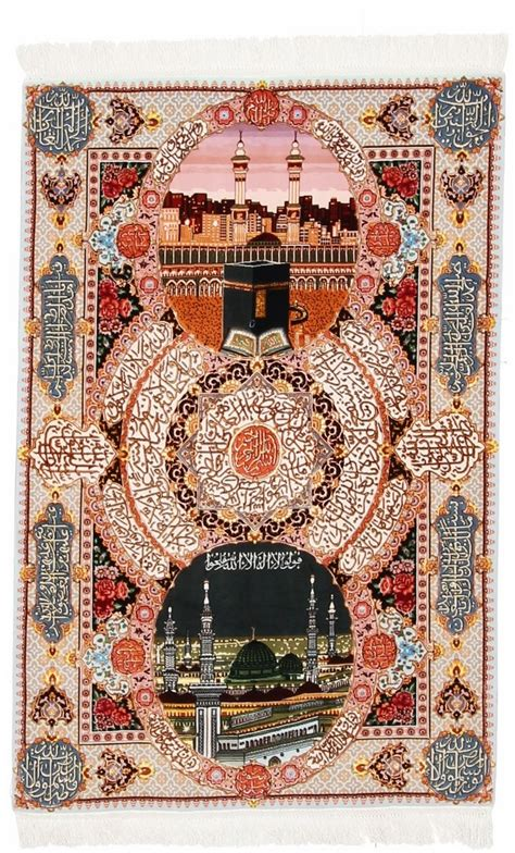 religious rugs kabbeh tabriz religious tableau rug wool tableau rug pictorial carpet item cs 113