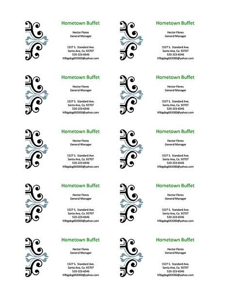 business cards templates 100 images 35 free professional