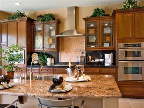plants above kitchen cabinets ideas for decorating above kitchen cabinets slideshow