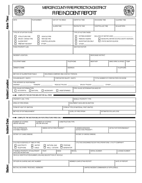department incident report templates best photos of departmental report template