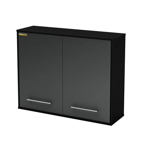 wall mounted garage cabinets south shore karbon wall mounted cabinet black