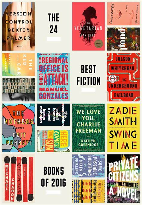 best fiction book the 24 best fiction books of 2016