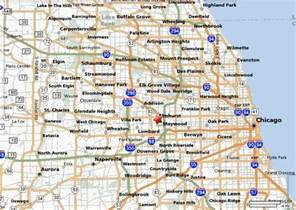 Map Of Chicago Suburbs by Map Of Chicago Suburbs Tourism Fiji