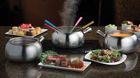 fondue dinner menu melting pot westwood menus