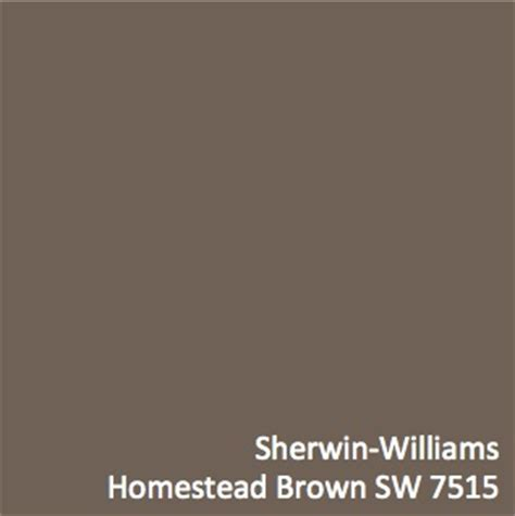sherwin williams homestead brown brown hairs