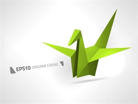 Origami Crane Clipart - vector origami crane free vector in encapsulated