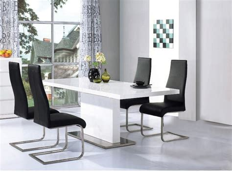High Gloss Dining Table And Chairs Marceladick Com High Gloss Dining Table Sets