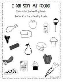 healthy eating kindergarten worksheets happy amp healthy