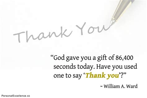 Thank You Note To Inspiring Thank You Quotes For Work Quotesgram