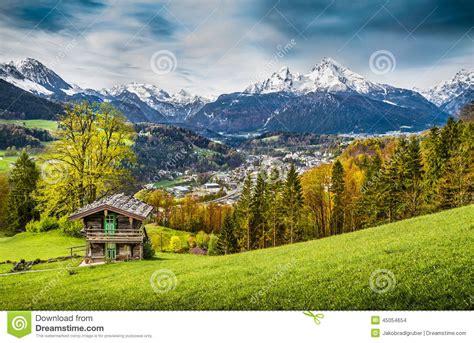 Alpen Chalet österreich by Berglandschaft In Den Bayerischen Alpen Land Nationalpark