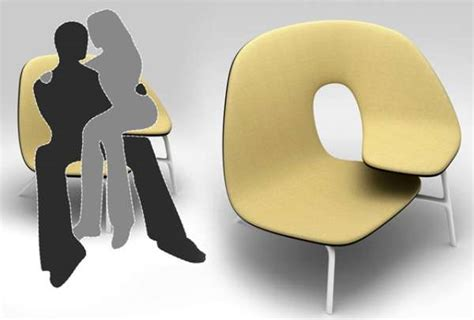 Couples Chair by Curvy Chairs Milinov S Hug Chair
