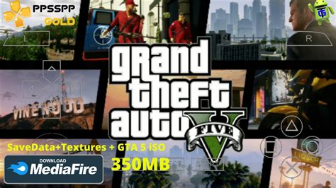 gta  ppsspp iso mod data android