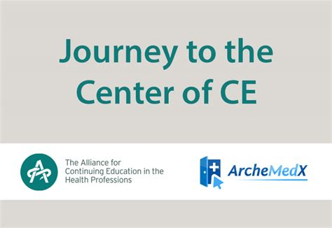 journey to the center of ce acehp archemedx