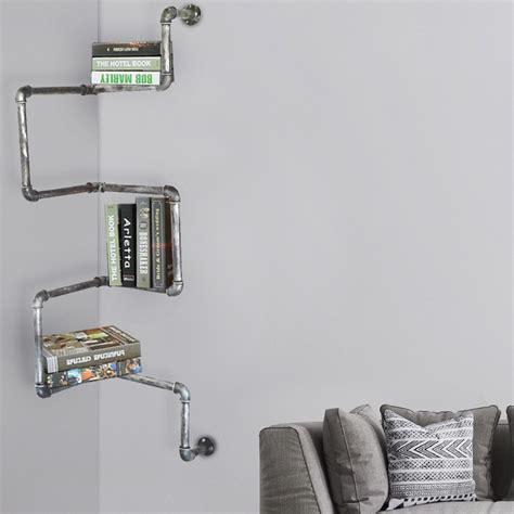 regal aus metallrohren retro wandregale aus metallrohren in verschiedenen designs