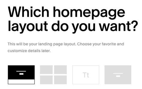 Choosing The Right Template Squarespace Help Basil Template Squarespace