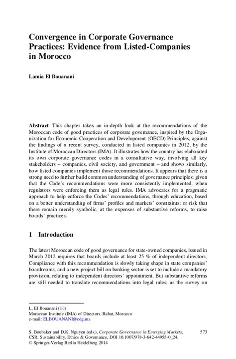 Corporate Governance Essay by Thesis On Corporate Governance In Banks