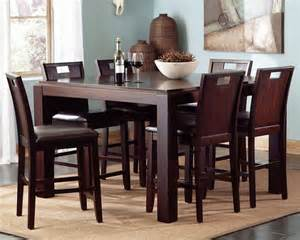 pietra 7 piece high dining set collections