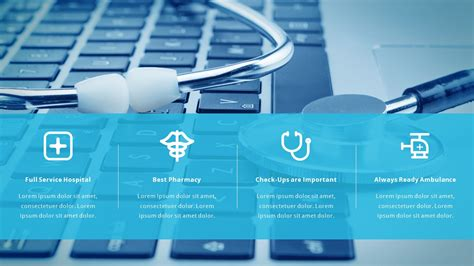 powerpoint presentation templates for hospitals medical and healthcare pitch deck by spriteit graphicriver