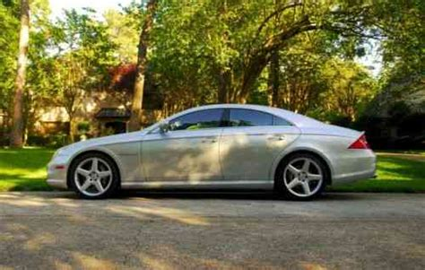 mercedes cls 55 amg price mercedes cls class cls 55 amg 2006 price used