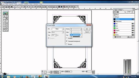 Wedding Card Design In Pagemaker by How Creat Frame In Pagemaker