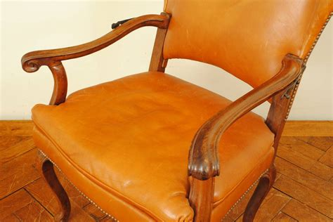 upholstered reclining chairs italian rococo walnut and leather upholstered reclining