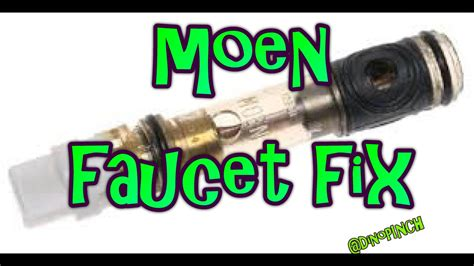 Moen 2 Handle Kitchen Faucet Repair single handle moen faucet 1225 cartridge youtube