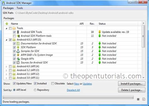 android sdk android tutorial installing android sdk and eclipse adt plugin 187 the open tutorials