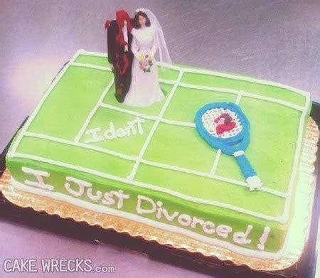 New Trend Alert Divorce Cakes by Cake Wrecks Home Happy Divorce Day
