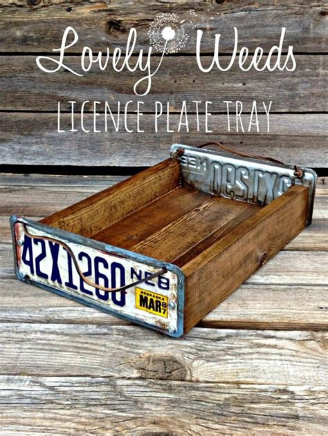 license plate craft projects 25 best ideas about license plates on