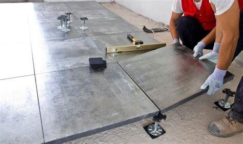 pavimento tecnico sopraelevato pavimento galleggiante pavimentazioni quando si usa il