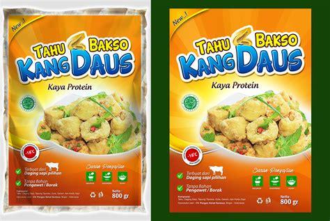 Tahu Bakso Kang Daus galeri desain label tahu bakso quot kang daus quot