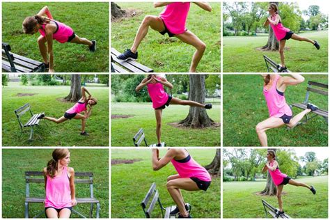 park bench workout get outside my 8 favorite park bench exercises balance