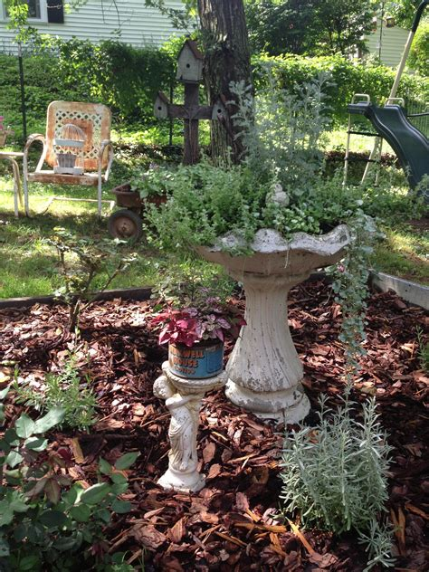 garden junk ideas photograph decorating the gard