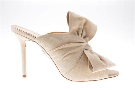 Flat Shoes Emorie Thuraya the mule sandal is the bridal shoe trend arabia weddings