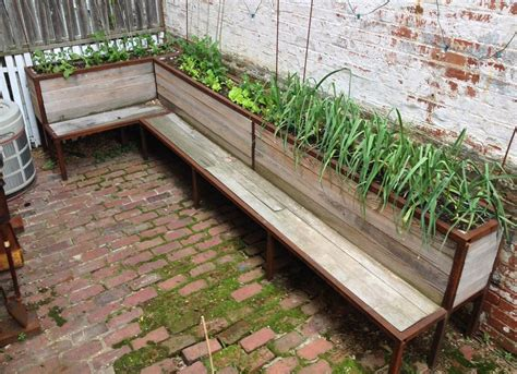 outdoor plant bench diy outdoor furniture small backyard ideas 9 ideas to